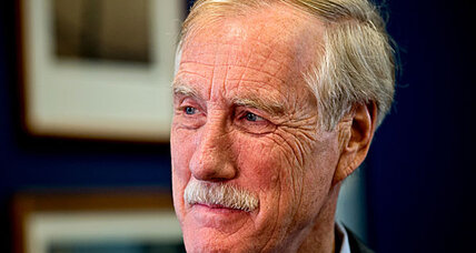 Angus King of Maine helps Senate tilt toward Democrats