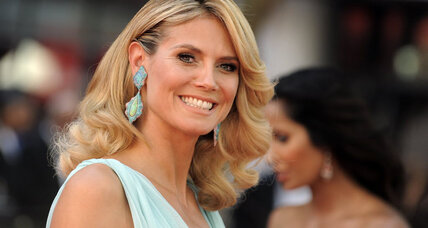 Heidi Klum: no makeup for charity, 'empowerment.' Really?