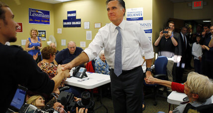 Romney's Pennsylvania chase: State's Republicans trying hard to believe