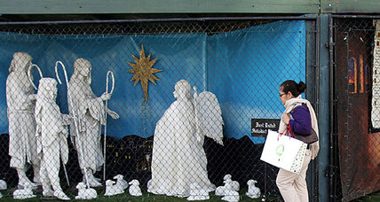Nativity display lawsuit: Atheists vs. Christians in Santa Monica (+video)
