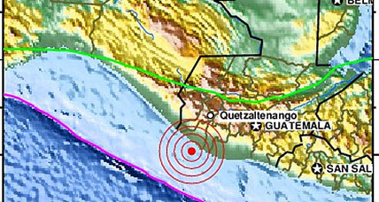 Guatemala earthquake: Strong 7.5 quake shakes region, at least one fatality