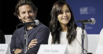 Bradley Cooper and Jennifer Lawrence strike romantic sparks in 'Silver Linings Playbook' (+video)