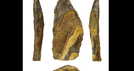 Gone spear hunting: Ancestors used stone spear tips 500,000 years ago