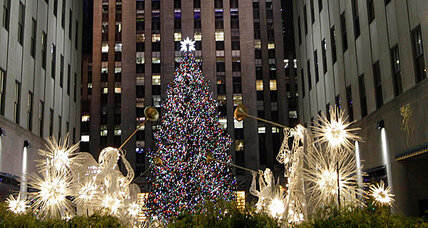 New Jersey spruce survives Sandy, lights up Rockefeller Center