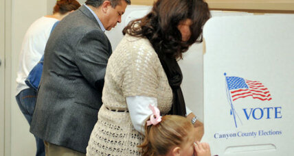Election 2012: It's 'take your kids to vote day' – a bipartisan lesson