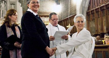 A West Point first: Chapel hosts same-sex wedding