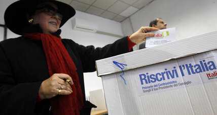 Italy votes in center-left primary, moves closer to choosing next prime minister