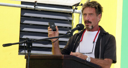 John McAfee claims to have escaped Belize, is still on the run