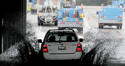 More rain-drenched days ahead in North California (+video)