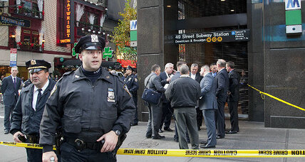 New York City: Suspect held in subway death (+video)