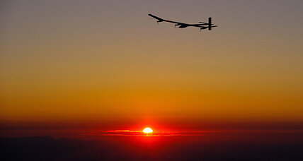 Solar-powered plane to circumnavigate globe. How will it fly at night?