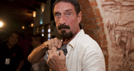 John McAfee surfaces, planning to seek asylum in Guatemala