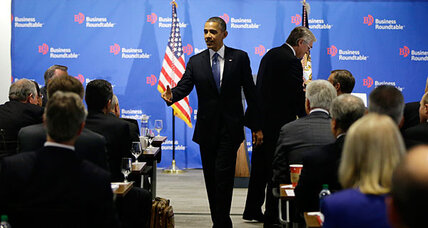 Obama attempts 'fiscal cliff' coup: winning over business leaders
