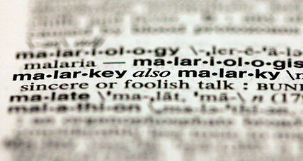 Top 10 most looked-up words of 2012? Lots of political malarkey. (+video)