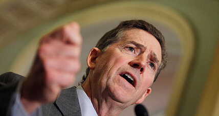 Why did Sen. Jim DeMint quit the Senate?