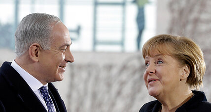 Merkel meets Netanyahu as Israel and Germany hit rocky patch