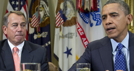 Obama remains firm, new poll shows support for position on 'fiscal cliff'