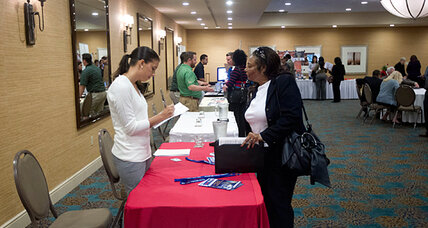 Unemployment rate falls for November, but is it for the 'wrong' reason? (+video)