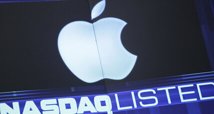 Stocks finished mixed; Apple drags down S&P, Nasdaq