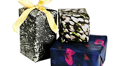 30 ways to spend $0 on gift wrap