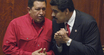 Who is Nicolas Maduro, possible successor to Hugo Chávez?