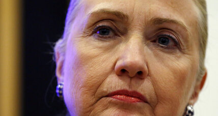 Hillary Clinton's Middle East trip canceled due to ill health