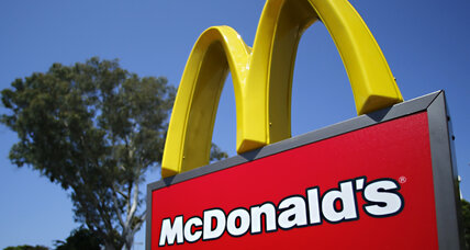 McDonald's surprises with US sales gain; shares soar