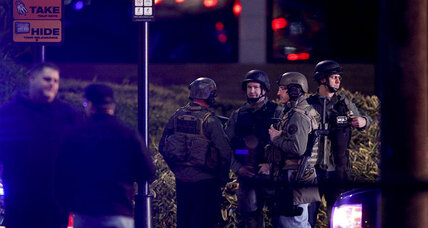 Oregon shooting: Panicked people run from mall