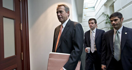 Boehner: Don't make Christmas plans, 'serious differences' remain in 'fiscal cliff' talks