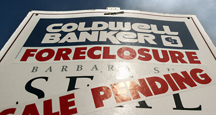 Foreclosures hit nine-month high, but starts drop