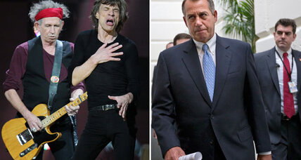 Gimme shelter! Your Rolling Stones guide to the 'fiscal cliff'