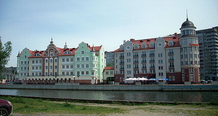 A Russian island encircled by Europe: Kaliningrad's dual existence