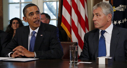 Defense Secretary front-runner, GOP's Chuck Hagel has strong Obama ties