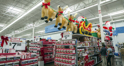 Christmas shopping: Did retail season already go over the 'fiscal cliff'?