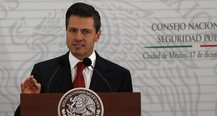 New Mexican president announces multipronged strategy against drug-related violence