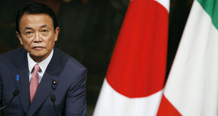 Japan's new PM to tap Taro Aso, former prime minister, for finance post