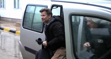 NBC's Richard Engel released in Syria, a journalist danger zone (+video)