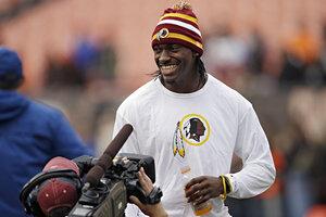 Robert Griffin III: Redskins QB's jersey breaks sales records ...