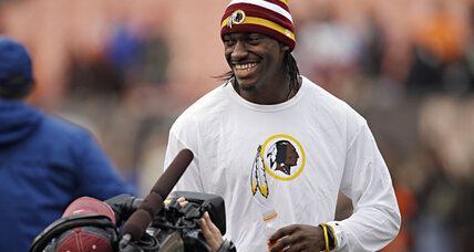 Robert Griffin III: Redskins QB's jersey breaks sales records