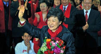 South Korea elects its first woman president, Park Geun-hye