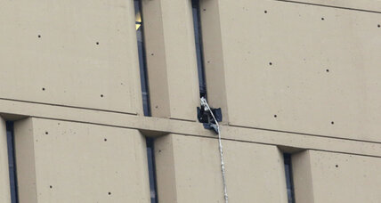 Escape down high-rise jail has Chicago wondering: how'd they dare? (+video)