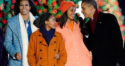 Michelle Obama: What's she doing to get ready for Christmas? (+video)