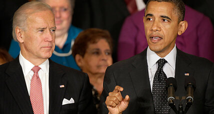 Obama tapping VP Biden to lead push to curb gun violence (+video)