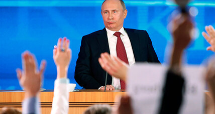 Putin presser: chilling news for orphans, but warm words for Depardieu