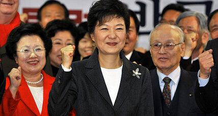 South Korea's president-elect promises 'new era of change'