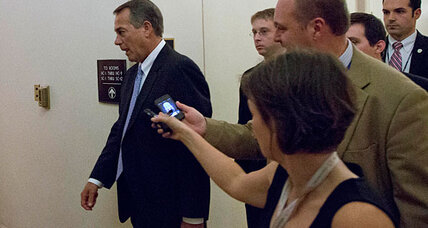 Boehner 'Plan B' flop: Good or bad for President Obama? (+video)
