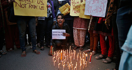 Delhi gang-rape case could be turning point for India's rape laws (+video)