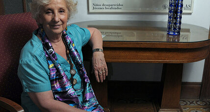 Estela de Carlotto hunts for Argentina's grandchildren 'stolen' decades ago