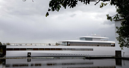 Steve Jobs' superyacht can't leave Netherlands until payment spat resolved