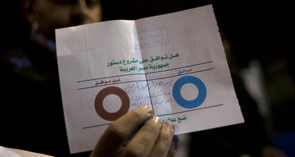 Egypt passes new constitution